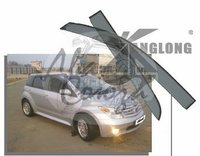 Ветровики - дефлекторы окон Toyota IST NCP6# 2002-2007