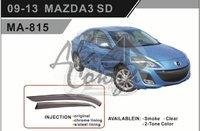Ветровики - дефлекторы окон Mazda 3/Axela BL# (Sedan) 09-13 (TXR Тайвань)