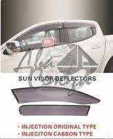 Ветровики - дефлекторы окон Mitsubishi L200/Triton 15- (TXR Тайвань)