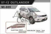 Ветровики - дефлекторы окон Mitsubishi Outlander XL 2006-2013