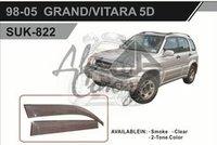 Ветровики - дефлекторы окон Suzuki Grand Vitara 97-05 3D (TXR Тайвань)