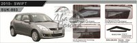 Ветровики - дефлекторы окон Suzuki Swift Z#12 11- (TXR Тайвань)