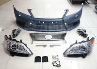 Рестайлинг переднего бампера Lexus ES350 с 2007-2011 в 2012-2015