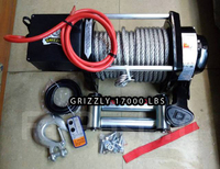 "Лебедка электрическая ""Grizzly"" 17000lbs / 7711 кг"