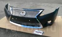 Передний бампер (обвес) Toyota Camry 40 в стиль Lexus