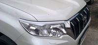 Реснички - накладки на фары Toyota Land Cruiser Prado 150 2018