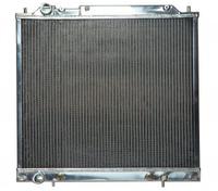 Радиатор алюминиевый MMS Delica PF6W 6G72 40мм AT