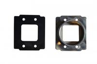 Фланец Simota переходной под фильтр нулевого сопротивления №1 алюминий (Ford, VolksWagen, Suzuki, Nissan etc)