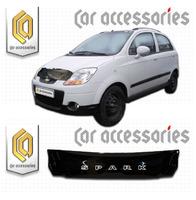 Дефлектор капота - мухобойка Chevrolet Spark 05-09
