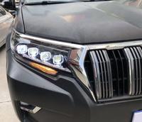 "Фары Toyota Land Cruiser Prado 150 2018 ""Bugatti style"""