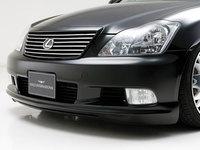 """Накладка бампера губа """"WALD"""" Toyota Crown Athlete 18# 2005-2008 GRS180, 181,184"""