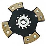 Диск сцепления керамический ВАЗ 2121 (4 лепестка)