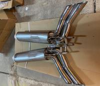 Глушитель (разводка глушителя) Mecedes G-class W464 (дизайн Brabus)