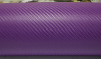 Пленка карбон 3D carbon фиолетовая