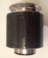 Фильтр воздушный (нулевик) карбон 76мм