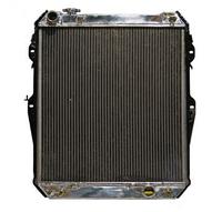 Радиатор алюминиевый Toyota Surf N130 1KZ 40мм AT