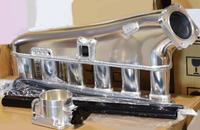 Коллектор впускной (фрезерованный) Nissan RB26DETT c дросселем 90мм и топливной рейкой