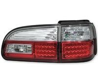Стопы диодные Mitsubishi Delica / Space Gear 1997-2006 хром+красный