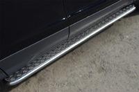 Пороги труба с листом Ford Kuga 2013- (d42)