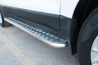Пороги труба с листом Ford Ecosport 2014- (d42)