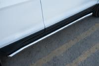Пороги труба Ford Ecosport 2014- (d63)