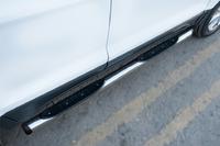 Пороги труба с накладкой Ford Ecosport 2014- (d76) #2