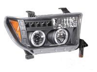 Фары (оптика) LED тюнинг Toyota Sequoia / Tundra 2007-2013 линза