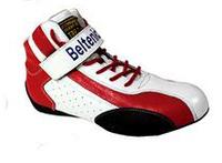 Ботинки спортивные омологированные красные Beltenick (BTN-200) размер 44