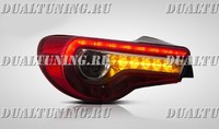Задние светодиодные фонари стопы «Sport Style» Toyota GT 86 / Subaru BRZ (2012-2016)