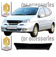 Дефлектор капота - мухобойка Chevrolet Rezzo 04-08