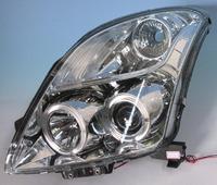 Фары (оптика) Suzuki Swift 2004-2010 линза (хром)