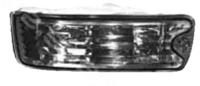 Поворотники в бампер Mitsubishi Delica / Space Gear 1997-2006 дымчатые