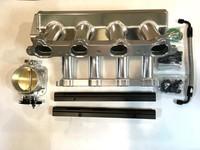 Впускной коллектор фрезерованный Toyota 1UZ c дросселем 90мм и топливной рейкой