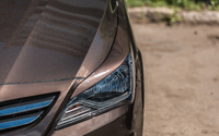 Реснички (накладки на фары) на Hyundai Solaris I Restyling 2014+