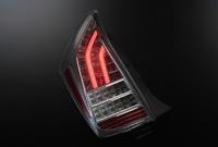 Стопы тюнинг диодные Toyota Prius 30 ZVW30 (дымчатые)