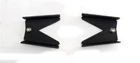 Крепление для номера авто складное (черное)