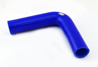 """Патрубок силиконовый Samco 2.5"""" 63мм 90 градусов 150*150мм"""