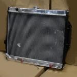 Радиатор алюминиевый Mitsubishi Pajero V43 6G72 40мм AT