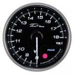 """Датчик """"DEPO Classic"""" 60мм вольтметр (Voltmeter)"""