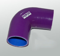 Патрубок силиконовый HKS 90 градусов 51-57мм