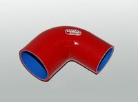 Патрубок силиконовый Greddy 90 градусов 38мм