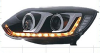 Фары тюнинг (оптика) Ford Focus 3 2012-2013