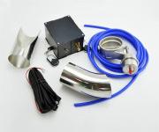 Заглушка выхлопная вакуумная с пультом и отводами 76мм