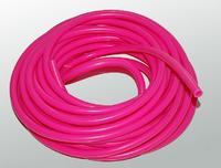 Шланг силиконовый розовый 3*7мм (бухта 10м)