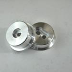 Опоры редуктора JZX90-110 задние (алюминий)