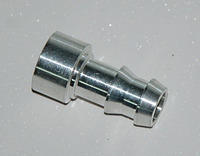 Адаптер вварной 12мм алюминий