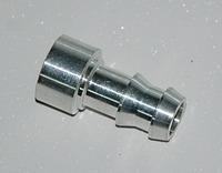 Адаптер вварной 16мм алюминий