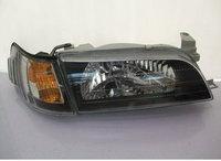 Оптика (фары) Toyota Corolla 110 1998-2000 (черный хрусталь)