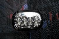 Поворотники в крыло диодные Toyota Runx / Allex  2001-2006 (хром)