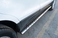 Пороги труба овал с проступью Ford Ecosport 2014- (75*42)